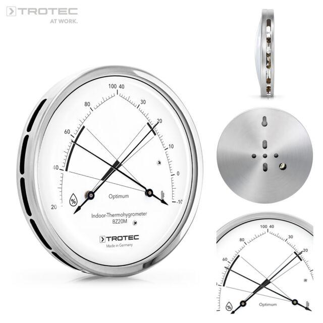 Trotec Bz20m Thermohygrometer Hygrometer Thermometer Raumklima  Luftfeuchtigkeit
