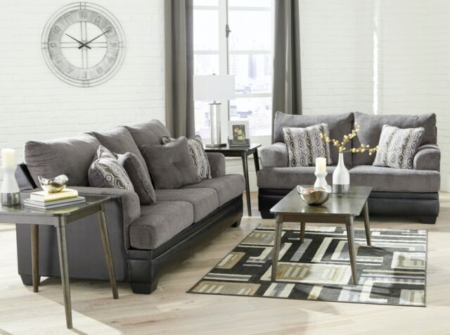 Excellent Ashley Furniture Millingar Sofa And Loveseat Andrewgaddart Wooden Chair Designs For Living Room Andrewgaddartcom