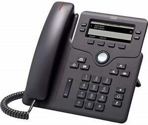 Telefono fisso IP Cisco 6851-VoIP Cornetta Cablata LCD CP-6851-3PCC-K9=