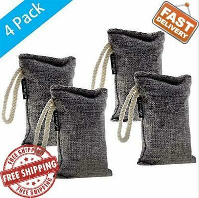 bags charcoal fresh nature bamboo air purifier bag purifying odor freshener ebay 4pcs amazon