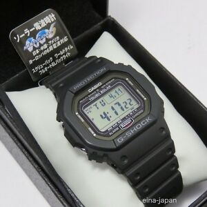 super popular ae63e 57408 Details about CASIO G-SHOCK GW-5000-1JF Tough Solar Radio Watch Multiband 6  made in japan