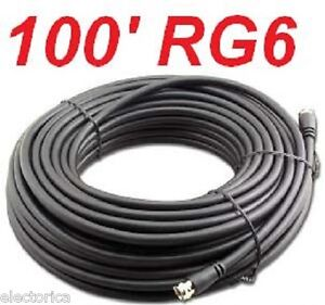 100-FT-RG-6-SATELLITE-COAX-CABLE-RG6-COAXIAL-HD-ANTENNA-HDTV-WIRE