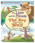 The Lion and the Mouse: And, The Boy Who Cried Wolf by Aesop, Amelia Marshall (Hardback, 2016)