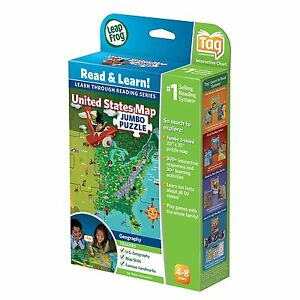 Leapfrog Interactive United States Map.New Leapfrog Leapreader Interactive United States Map Puzzle Works