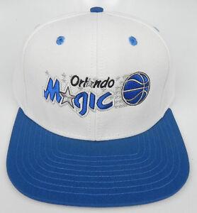 ORLANDO MAGIC NBA VINTAGE SNAPBACK RETRO 2-TONE CAP HAT NEW! WHITE ... fff2ef31eb3