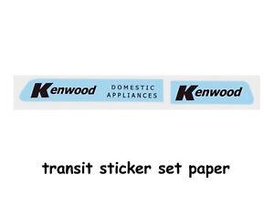 DINKY-TOYS-FORD-TRANSIT-STICKER-SET-KENWOOD