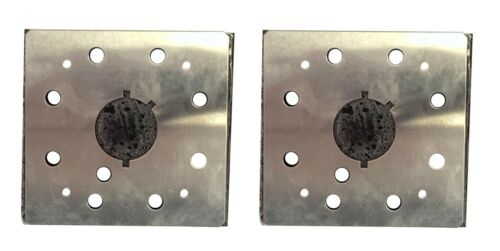 "2 Sander Pad /& Backing Plate 1//4/"" Square for Dewalt DW411 BD5000"