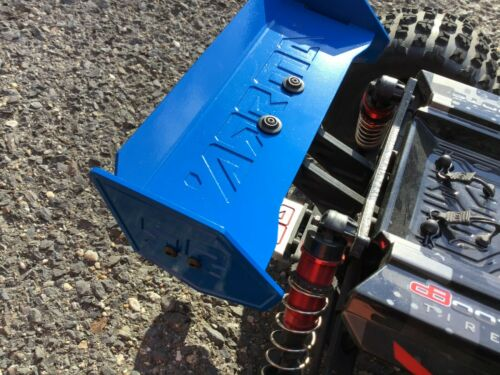 Arrma Kraton 6S Outcast Notorious Rear Wing Powdercoated in Blue Made In USA