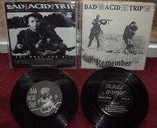 "BAD ACID TRIP 7""kungfu rick agathocles municipal waste spazz phobia brutal truth"