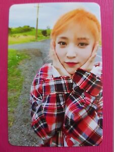 MAMAMOO MOONBYUL Authentic Official PHOTOCARD YELLOW FLOWER