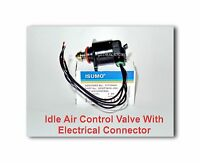 Idle Air Control Valve W/connector For Acura Chevrolet Gmc Honda Isuzu Oldsmobil