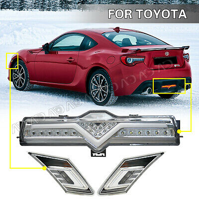 For TOYOTA 2018 FRS BRZ GT86 JDM Smoke Side Marker Signal Lamp light replace