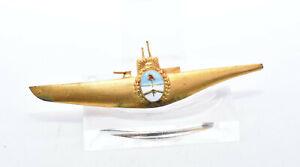 Altes U-Boot Abzeichen Orden Unterseeboot Argentinien Submarine Badge