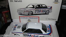 BIANTE AUTOart 1/18 PETER BROCK BMW M3 1988 AUSTRALIAN TOURING CAR CHAMPIONSHIP