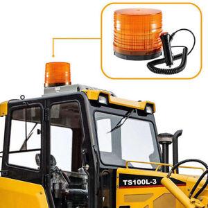 72LED-Magnetic-Flash-Strobe-Rotating-Beacon-Lamp-Emergency-Warning-Light-Amber