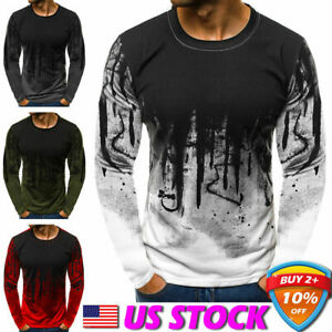 Men-039-s-Winter-Slim-Hoodies-Warm-Hooded-Sweatshirt-Coat-Jacket-Outwear-Sweater-USA