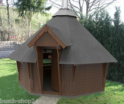 4,0 Bauplan Anleitung Zeichnung Kota Grillkota Grillhütte Holzhütte selbst bauen