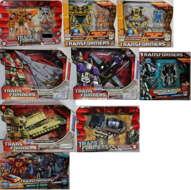 Transformers Figures Hasbro Choose  Voyager, Ultra Class, Power Combiner