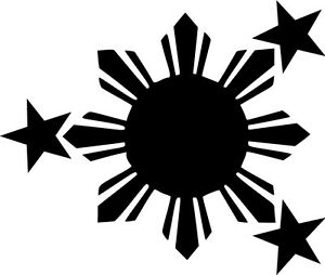 Philippines-Flag-Vinyl-Sticker-Decal-Sun-and-Stars-Choose-Size-amp-Color