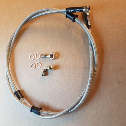 CABLE  ROUTE 1450MM VENHILL LAMBRETTA HYDRAULIC FRONT DISC BRAKE HOSE