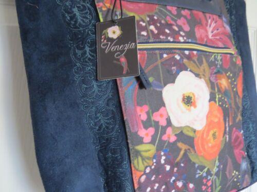 Venezia Tote des Back Rrp Avec Nouveau 97 Marine Mesdames Quintessential Floral étiquettes wg71qXU