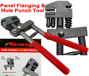 Heavy Duty Panel Flanging Tool Joggler Amp 5mm Hole Punch