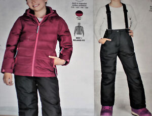 billig zu verkaufen exklusive Schuhe wo kann ich kaufen Details zu 2tlg. Mädchen SKIANZUG Snowboardanzug Jacke+Hose Gr.140 152 164  beere/schw. NEU