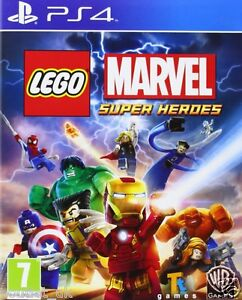 Lego Marvel Super Heroes Game For Playstation 4 Ps4 Kids Game New Ebay