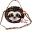"""2019 TY Flippables Sequin DANGLER the Sloth 9/"""" Fashion Purse 6 Way to wear MWMTs"""
