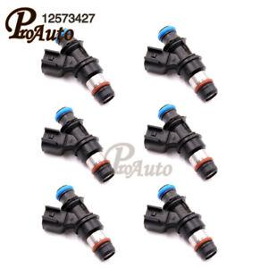 12573427 Flow Fuel Injector For  Buick LaCrosse Pontiac Grand 6PCS