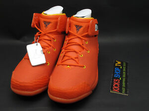 b729f0e2fbd8 NIKE JORDAN MELO 1.5 SE PE TEAM ORANGE HOODIE CARMELO ANTHONY OKC ...