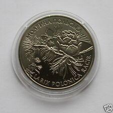 Ukraine 2001 Coin 2 UAH LARIX POLONICA RACIB Polish Larch Modryna Flora MC119