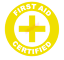 First-Aid-Certified-Emblem-Vinyl-Decal-Window-Sticker-Car thumbnail 9