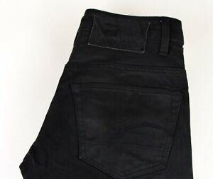 G-Star Raw Herren 3301 Niedrig Konisch Jeans Größe W29 L32 ACZ722