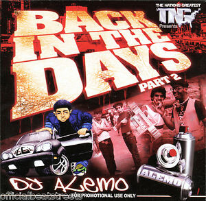 Dj alemo back in da days classic old school blends mix cd for Classic house music mixtapes