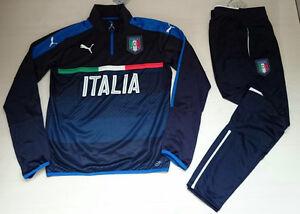 a17cdd9ab1 3327 PUMA TUTA ITALIA ALLENAMENTO ITALY TRAINING TRACKSUIT FIGC EURO ...