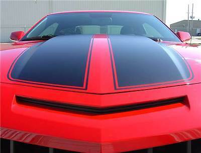 Exact Factory Style Hood Racing Rally Stripes 3M Vinyl Decal 2010-2013 Camaro