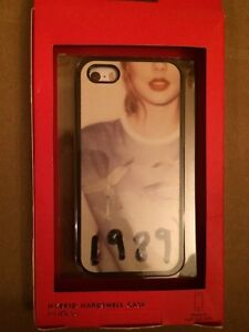 huge selection of ec07f f0a8e Details about Vintage Kate Spade Taylor Swift Iphone Case 5S 1989 Excellent