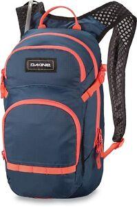 DAKINE-BIKE-SESSION-12L-WOMEN-039-S-BAG-CROWNS-BLUE-Mochila-Backpack-2L-RESERVOIR