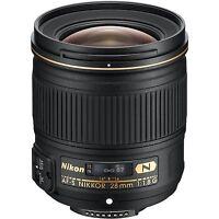 Nikon NIKKOR AF-S 28mm F/1.8G G Lens Camera Lenses