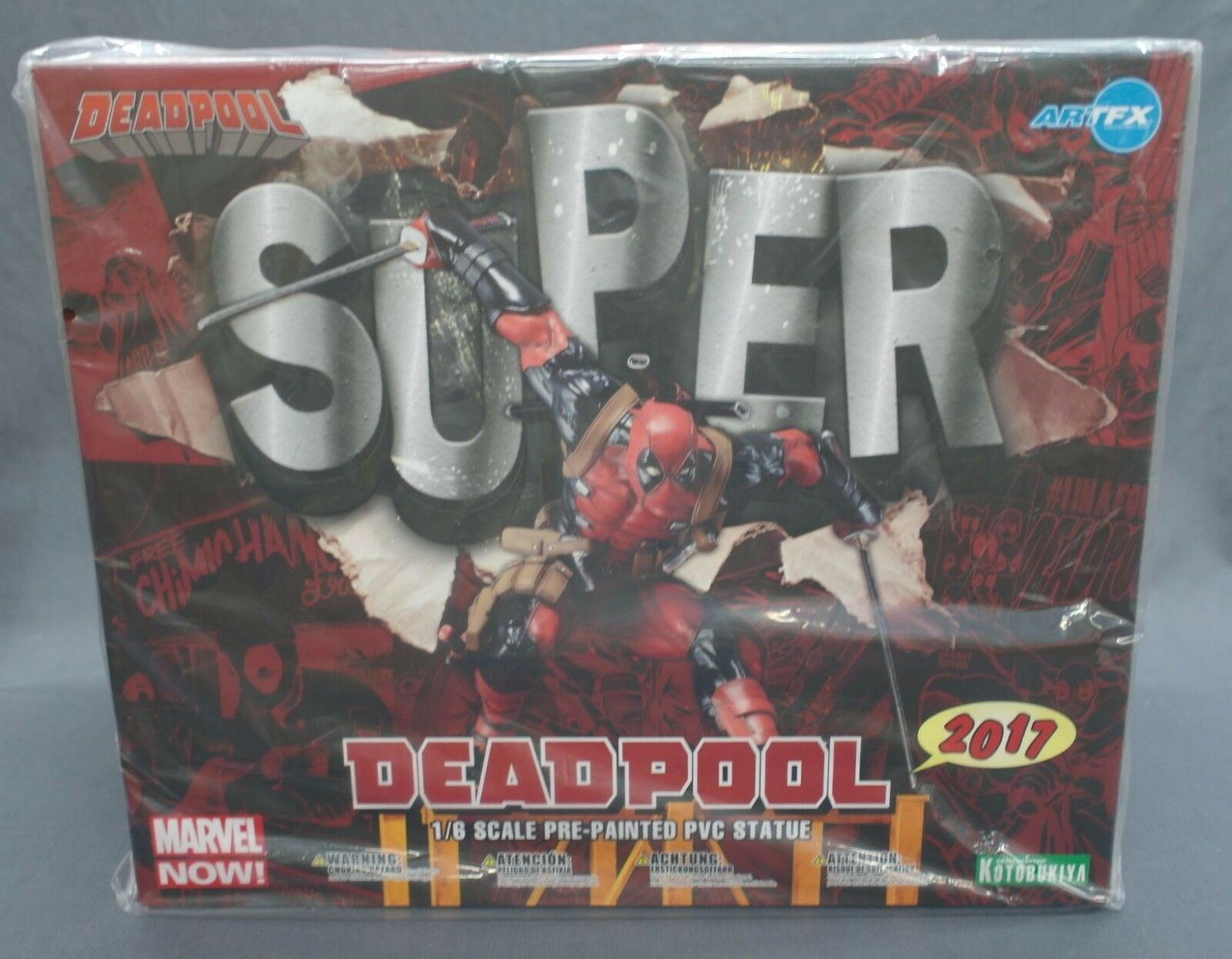 ARTFX SUPER Deadpool 2017 MARVEL NOW  1 6 Kotobukiya Japan NEW