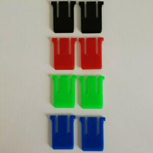 Logitech-TASTIERA-K345-MK345-RICAMBIO-Gamba-Piede-Supporto-Piedi-Set-RGB