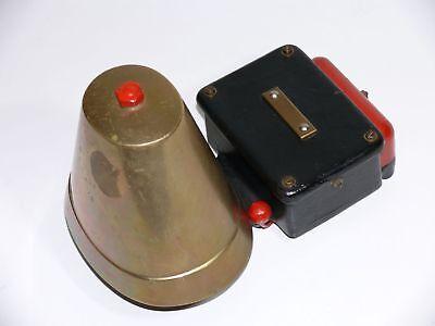 Gut bekannt A245} ALTE FIREHOUSE Messing-Glocke, Elektrische Klingel FC11
