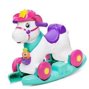 Jeux Chicco Miss Baby Rodeo Petit Cheval Avec Roues A Bascule Interactif
