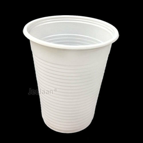 5000 Plastic Disposable Cups Water 7oz Weiß Drinking Glass Party Tableware