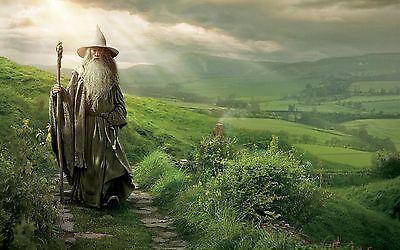 Poster A3 El Señor De Los Anillos The Lord Of The Rings Gandalf Pelicula Film 01