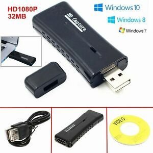 VGA-HDMI-Compatible-avec-USB-2-0-Carte-de-capture-video-HD-60fps-fiches-de-PC-Mac