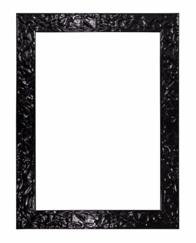 Fluid Textured GLOSS Flat Silver Photo Frame Poster Frame Picture Frame Gold A4