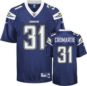 Details about Antonio Cromartie San Diego Chargers NFL Premier Jersey Reebok 2XL NWT XXL