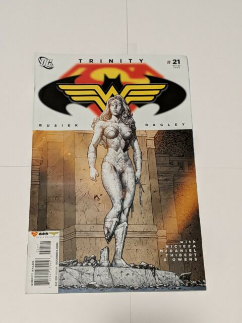 Trinity #21 October 2008 DC Comics Superman Batman Wonder Woman Busiek